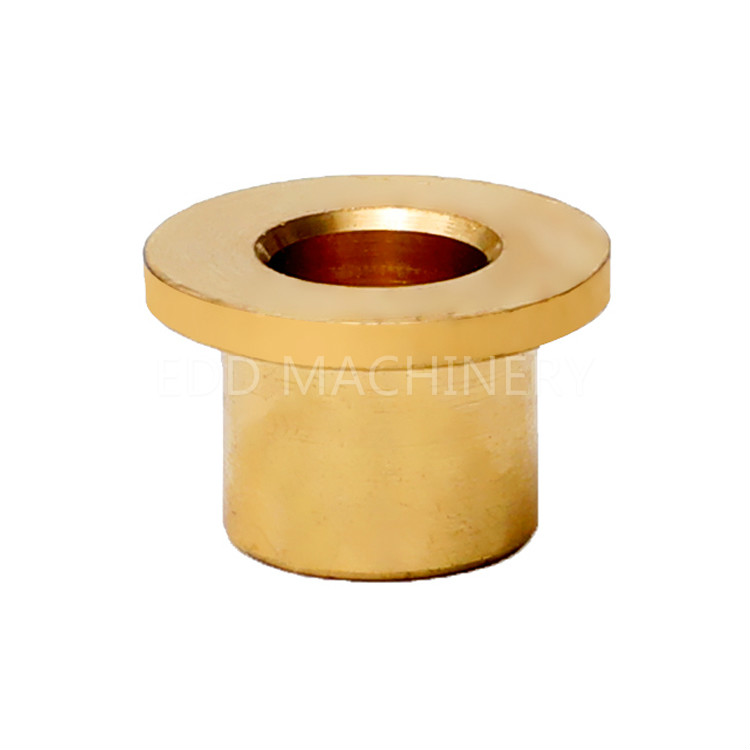 Flange bearing oil-free copper sleeve