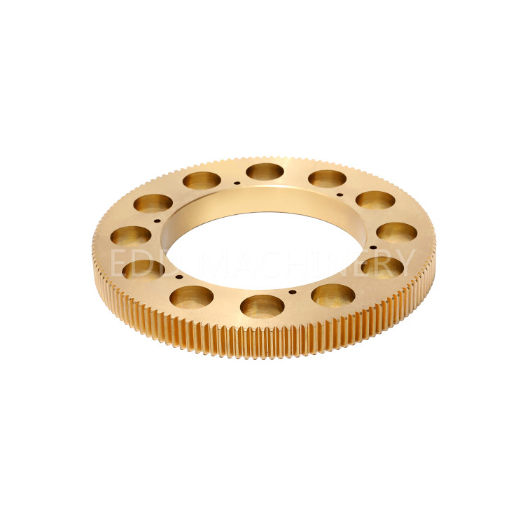Copper alloy worm gear