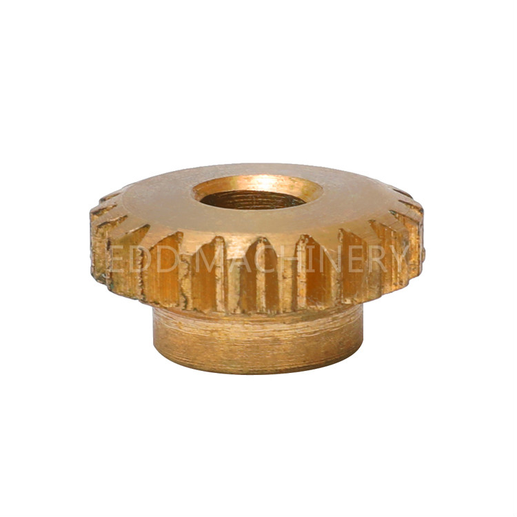 Copper cylindrical gear